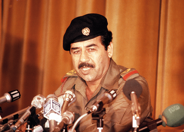 Saddam Hussein, Iraqi dictator and film fan. Photo: AP/Press Association Images