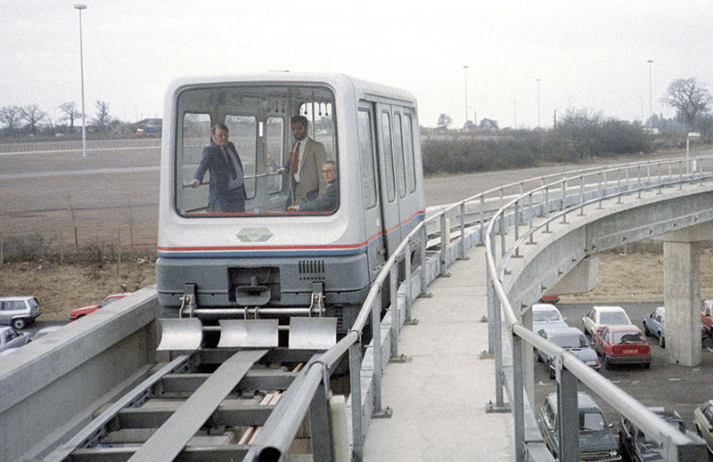 1984: The world's first commercial maglev at Birmingham airport