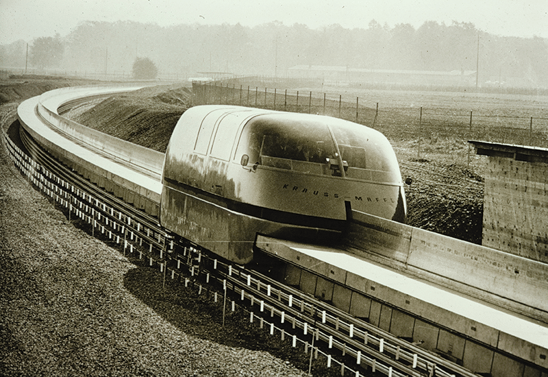 1969: Germany's Transrapid project, developed until 2011