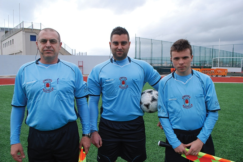 It's not just players preparing for UEFA membership. Referees too have to be trained. Photo: James Montague
