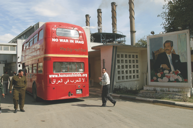 Baghdad South power station, where Godfrey Meynell was deployed.  Photo: Julian Simmonds