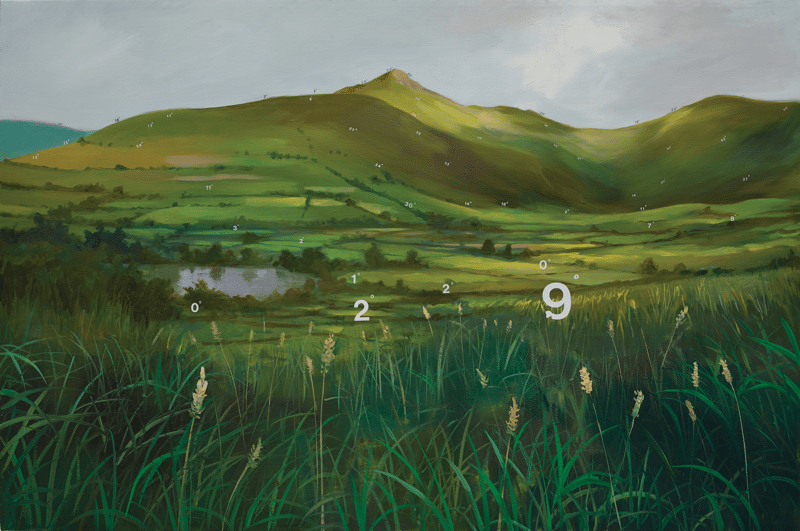 Protracted Landscape Number 9, by Oliver Jeffers