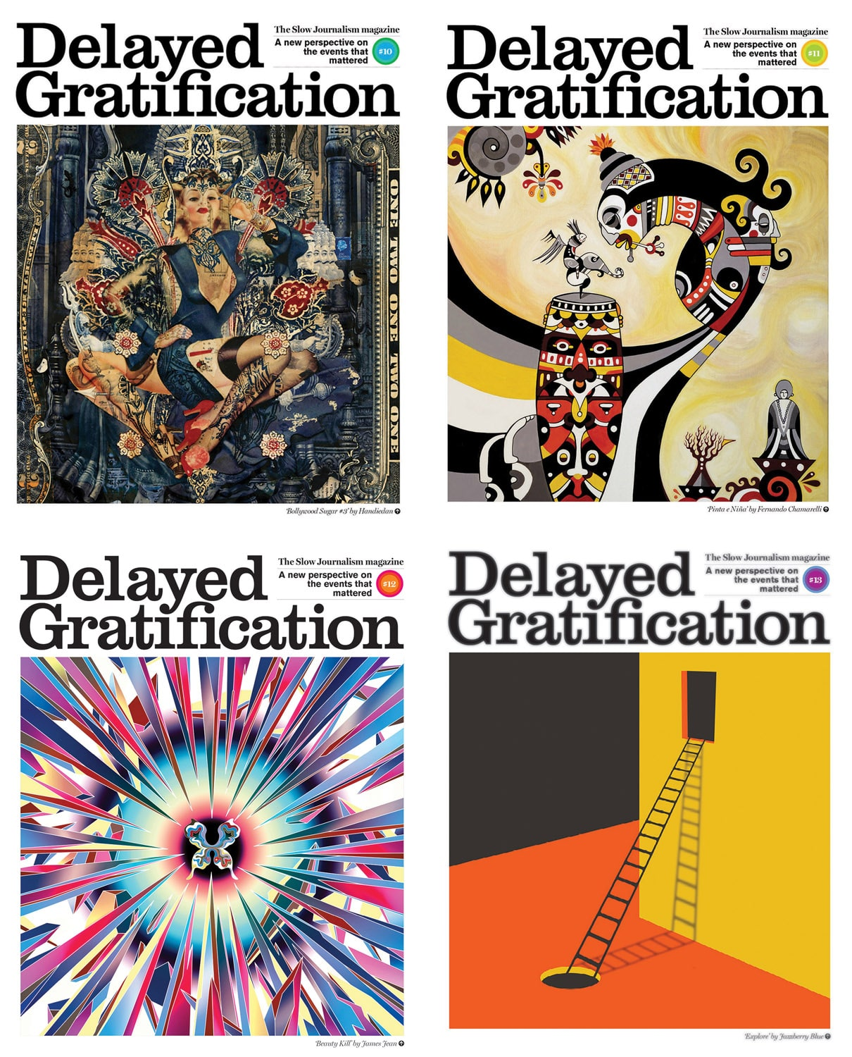 4 back issues 2013
