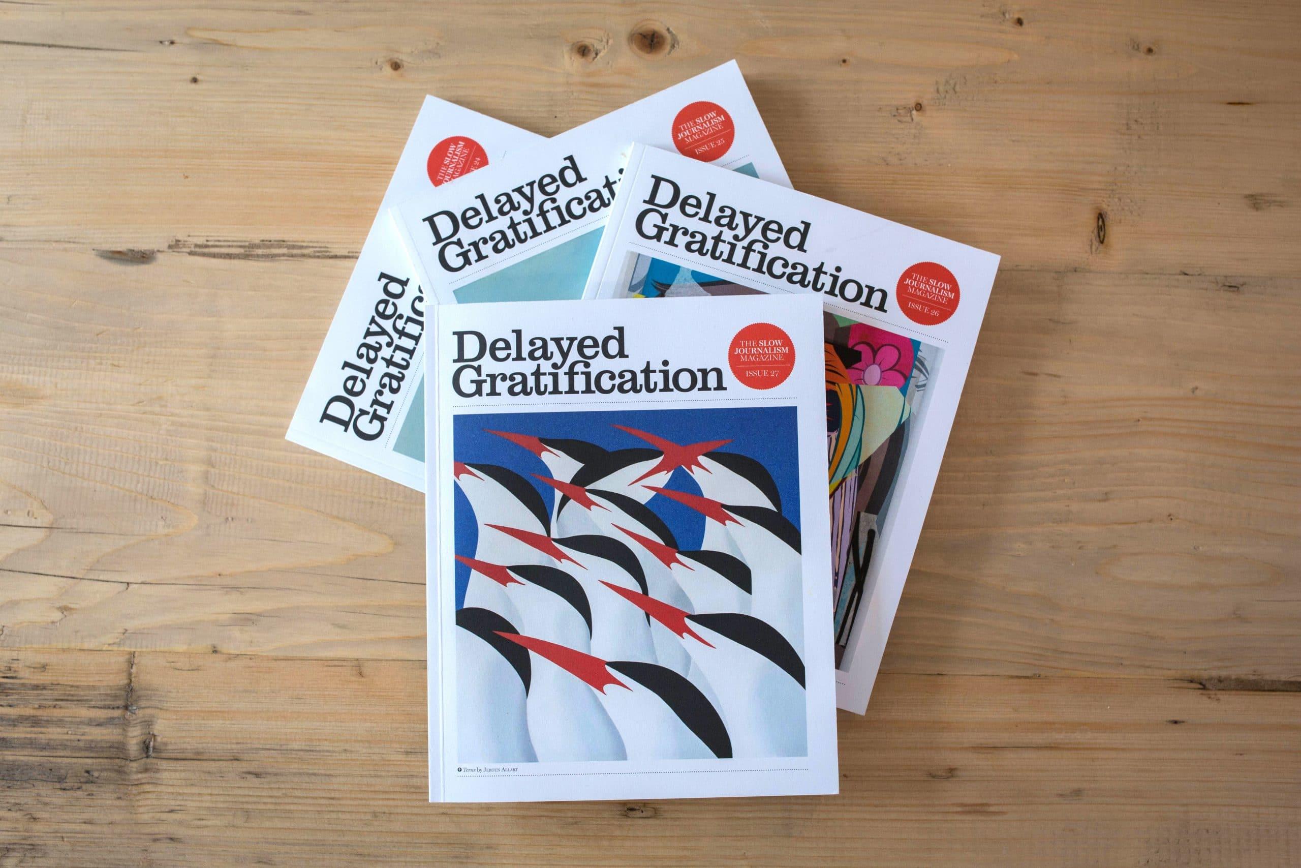 Delayed Gratification - Back issues shot